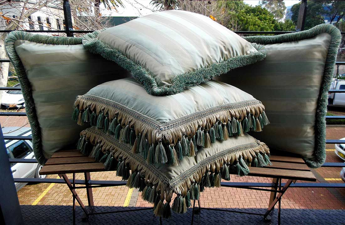 Taits_Interiors_Tassel_Trimmings_Silk_Cushions_Melbourne